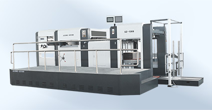 Automatic Die-cutting and Creasing Mach